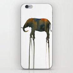elephant_002 iPhone Skin