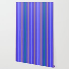 mediterranean stripe Wallpaper