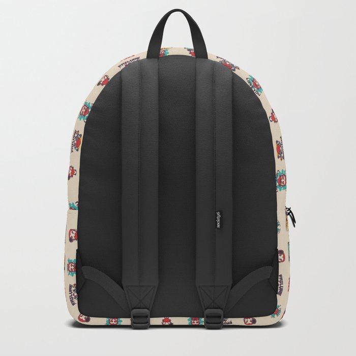 Van Gogh Stickers Backpack