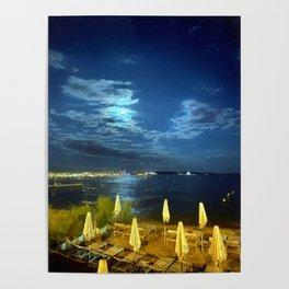 Silent Night in Monaco Poster