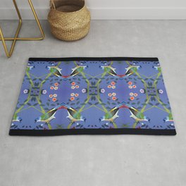 don't let the sun blast your shadow: chinois 1848 Rug