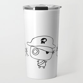 Three pirates, colour yourself Travel Mug