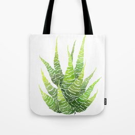 Haworthia Coarctata Tote Bag
