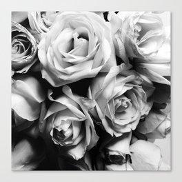 Roses Squad Goals Canvas Print