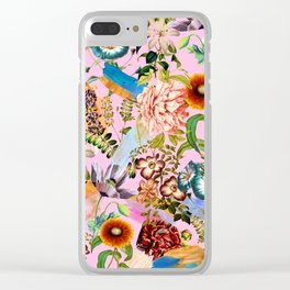 SUMMER BOTANICAL IX Clear iPhone Case