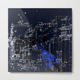 Night vision in time Metal Print