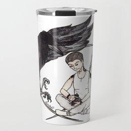 Raven Boy Travel Mug