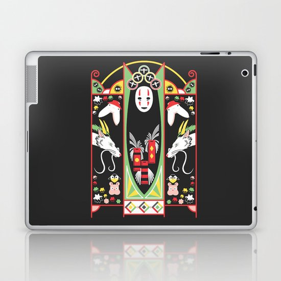 Spirited Deco Laptop & iPad Skin