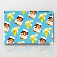 nutella iPad Cases featuring Because you and me are meant to be by popsicledonut