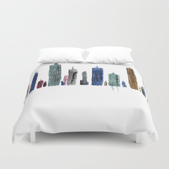 The New City Duvet Cover