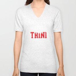 I'm [ Proud to be Trini ]. Unisex V-Neck