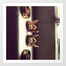 Rings on the Sill Art Print