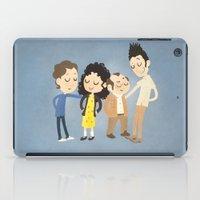 seinfeld iPad Cases featuring My Seinfeld Fantasy by Vera van Groos