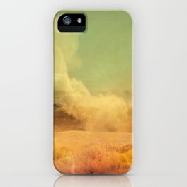 I dreamed a storm of colors iPhone Case
