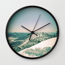 Winter 5 Wall Clock