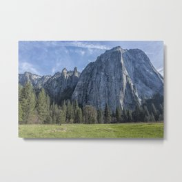 Cathedral Rock and Spires Metal Print