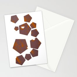 Pentagons of May 11 Stationery Cards