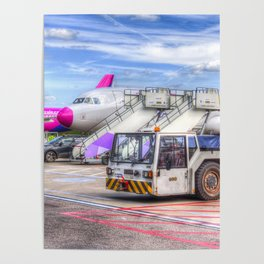 Wizz Air Airbus A321 Poster