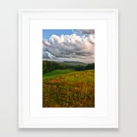 catcher in the rye Framed Art Prints featuring Catcher in the Rye View by Nathan Larson Photography