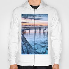 Dock on the River (Sunset) Hoody