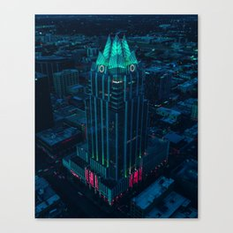 Frost Bank Tower from above Canvas Print