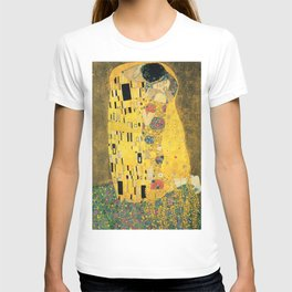 THE KISS - GUSTAV KLIMT T-shirt