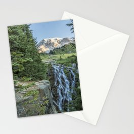 Early Morning at Myrtle Falls Stationery Cards
