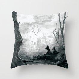 The Spirit Lives On Throw Pillow