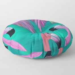 Love My Flamingos Floor Pillow