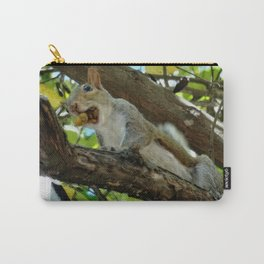 Mouthful squirrel Carry-All Pouch