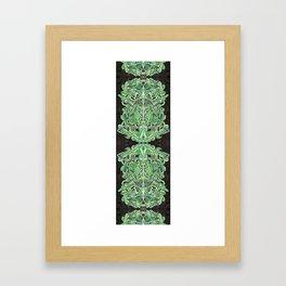 Verde II  Framed Art Print