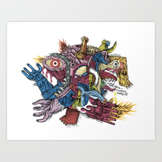 Already died - Print available!! Art Print