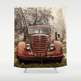 Abandoned Truck, Palomar Mountain Shower Curtain