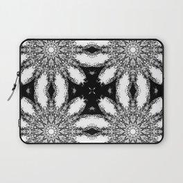 Black & White Colorburst Laptop Sleeve