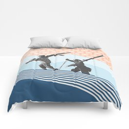 Finding the Perfect Line Comforters