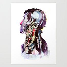Anatomy_Quain Art Print