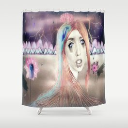 Portrait Landscaped #3 Shower Curtain