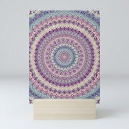 Earth Mandala 4 Mini Art Print