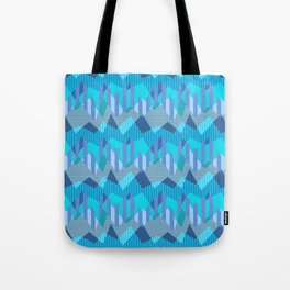 ZigZag All Day - Blue Tote Bag