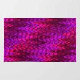 WAVY #2 (Purples, Fuchsias, Violets & Magentas) Rug