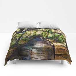 Paradise Remembered Comforters