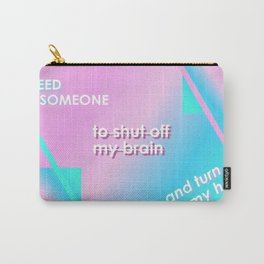 Quote  x Prozac Nation Carry-All Pouch