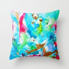 Le Aqua et Passion Throw Pillow
