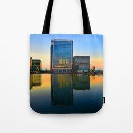 Dusk @ Docklands Tote Bag