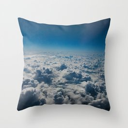 Heavenly Ocean Throw Pillow