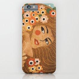 Klimt Lady iPhone Case