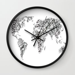 Nomad - Globetrotter Wall Clock