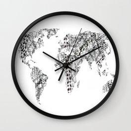 Nomad - Globetrotter Wall Clock