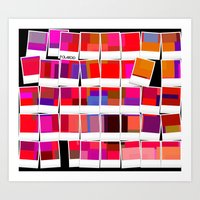 polaroid Art Prints featuring Polaroid by LoRo  Art & Pictures