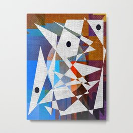 Contemporary Art Metal Print